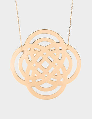 ginette_ny Purity 18-karat rose gold necklace