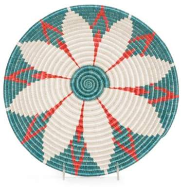 Bed Bath & Beyond Nile Hope Bowl 12-Inch Round Woven Wall Art