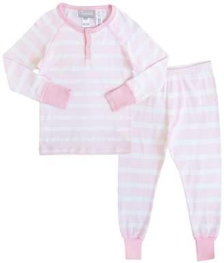 Coccoli Striped Pajama with Contrast Trim (Toddler, Little Kids, & Big Kids)