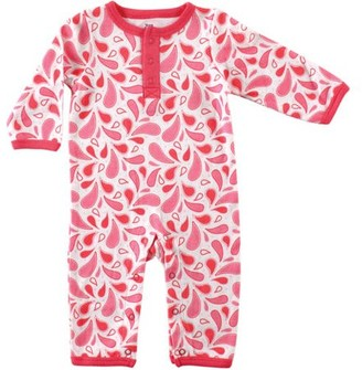 Yoga Sprout Baby Girl Coverall