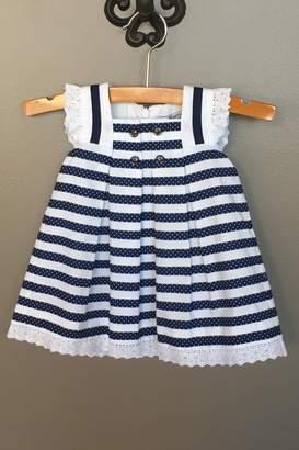 Mayoral Stripes Sailor Dress