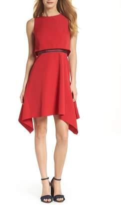 Julia Jordan Popover A-Line Dress