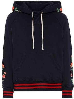 Mother The Square embroidered hoodie