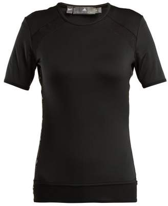 adidas by Stella McCartney Essential Panelled Performance T Shirt - Womens - Black