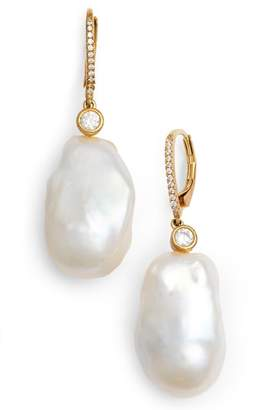 Nina Baroque Pearl Earrings
