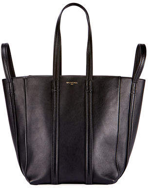 Balenciaga Laundry Cabas 4-Strap Leather Extra Large Tote Bag