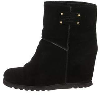 Marc by Marc Jacobs Suede Wedge Boots