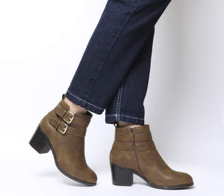 87cea0b96f Office Strap Buckle Boots For Women - ShopStyle UK