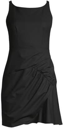 Nanette Lepore Shirred Mini Dress