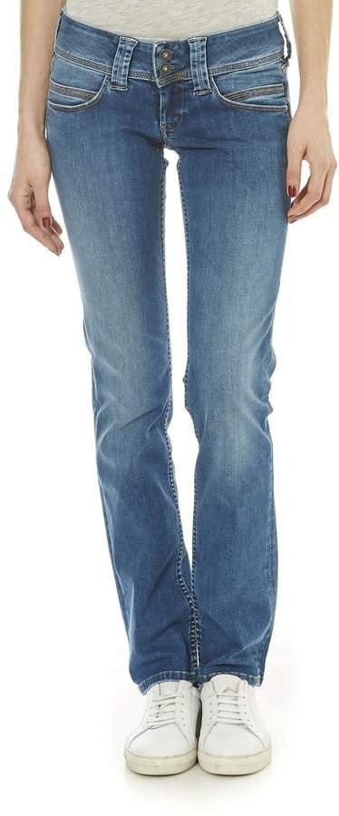 Pepe Jeans London Venus - Jeans mit geradem Schnitt - jeansblau