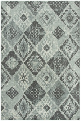Rizzy Home Rothport Diamond Pattern Rug