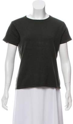 Calvin Klein Collection Cashmere Short Sleeve Top