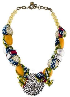 Lulu Frost Resin & Crystal Bead Necklace