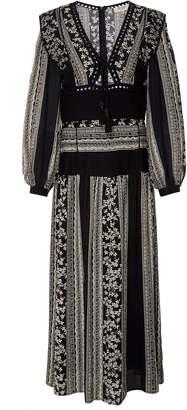 Sea Keely Long Sleeve Midi Dress