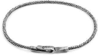 ANCHOR & CREW - Silver Forestay Single Sail Chain Bracelet