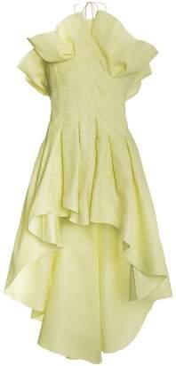Rosie Assoulin Silk Bustier Dress