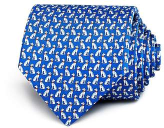 Salvatore Ferragamo Dogs Neat Classic Tie