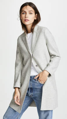 Harris Wharf London Pressed Wool Coat