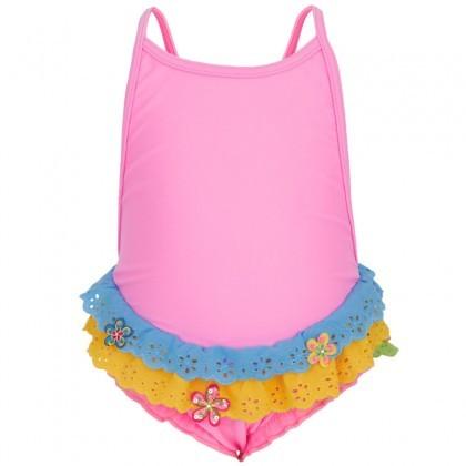Pate De Sable Bon Bon Lace Trim Swimsuit