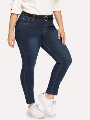 4e343e761c Fade To Blue Skinny Jeans Women Sizes - ShopStyle