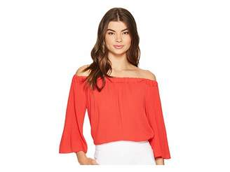 1 STATE 1.STATE Off Shoulder Bell Sleeve Blouse Women's Blouse
