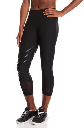 90 Degree By Reflex Black Mesh Panel Leggings