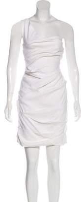 Preen by Thornton Bregazzi Tiered Mini Dress