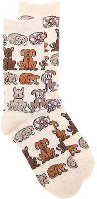 K. Bell Dogs Crew Socks - Women's