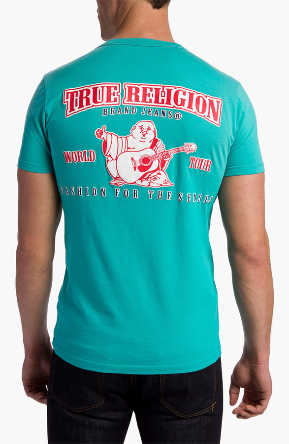 True Religion Brand Jeans 'Puff' Graphic T-Shirt
