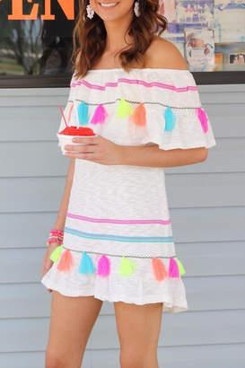 fbb9630045b3 White Tassel Dress - ShopStyle UK