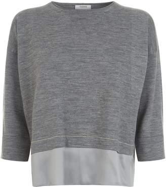 Peserico Silk Trim Sweater