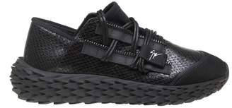 Giuseppe Zanotti Urchin Sneakers In Black Leather