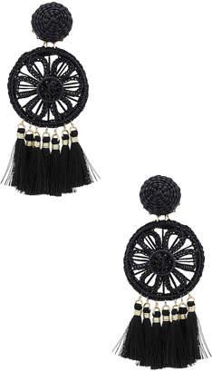 Mercedes Salazar Gardenia Ceniza Earrings