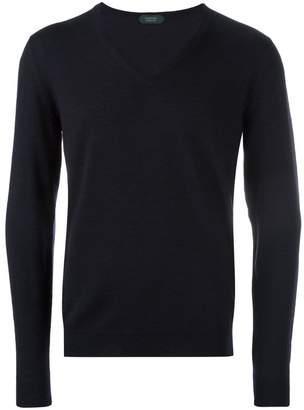 Zanone v-neck jumper