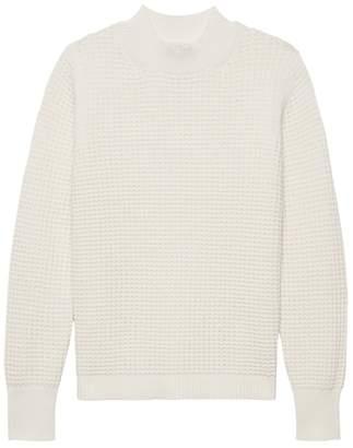 Banana Republic Washable Wool-Cashmere Mock-Neck Sweater