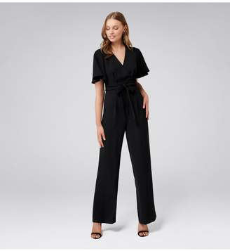 Ever New Gia Flutter Sleeve Jumpsuit