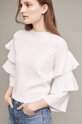 Anthropologie Barnemme Tiered Pullover