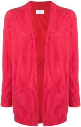 Allude draped knitted cardigan