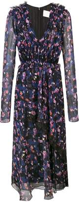 Jason Wu Collection gathered floral dress