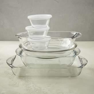 west elm Anchor Hocking 10-Piece Glass Bakeware Set