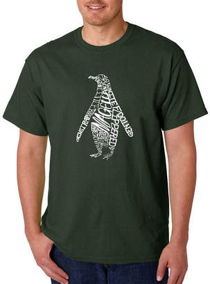 Original Penguin LOS ANGELES POP ART Los Angeles Pop Art Penguin Logo Graphic T-Shirt-Big and Tall