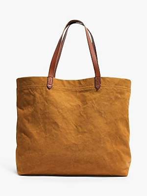 Madewell Canvas Transport Tote Bag