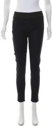 Stella McCartney Snakeskin Print Skinny Pants