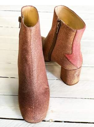 Camilla Elphick SILVER LINING BOOTS IN DISCO PINK