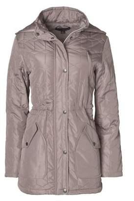 c8c025c87124f at Walmart.com · Harve Benard Women s Plus-Size Quilted Anorak Jacket with  Hood