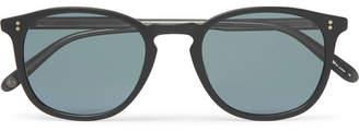 Garrett Leight California Optical - Kinney 49 Square-Frame Matte-Acetate Sunglasses - Black
