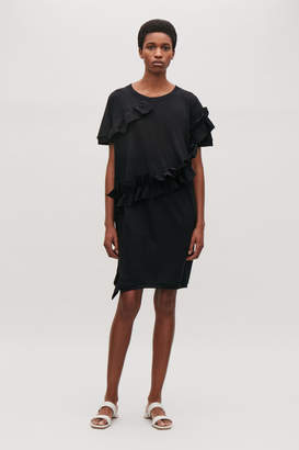 Cos FRILLED COCOON DRESS