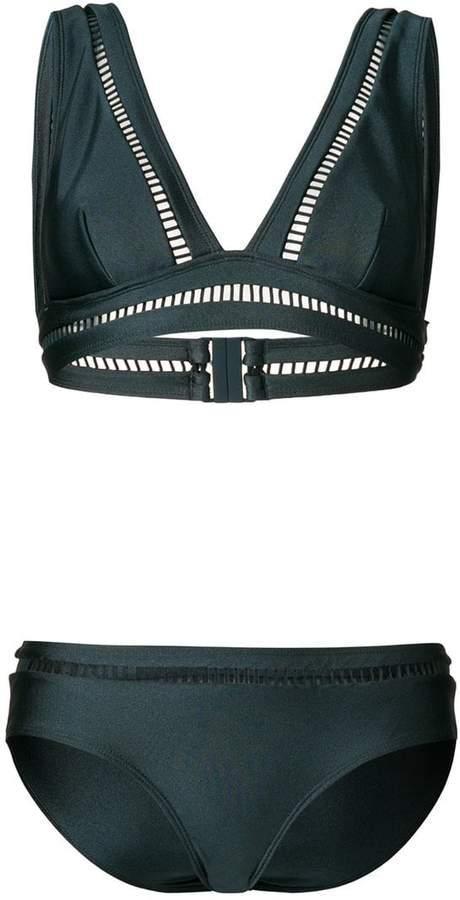 perforated bikini set
