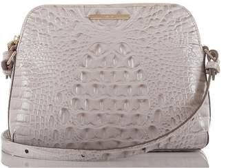 Brahmin Mini Syndey Embossed Leather Crossbody Bag