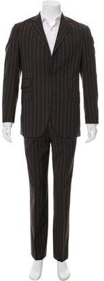 Etro Pinstripe Wool Two-Piece Suit